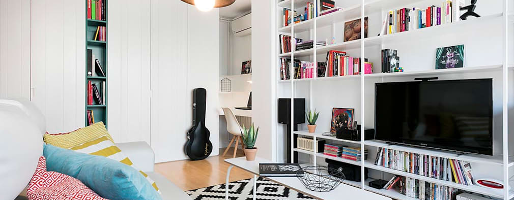 ห้องนั่งเล่น by Dröm Living