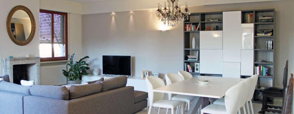 SuMisura: modern tarz Oturma Odası