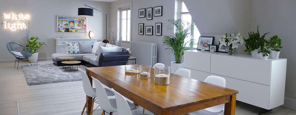 12 ideas geniales para unir la cocina living y comedor - Unir cocina y salon ...