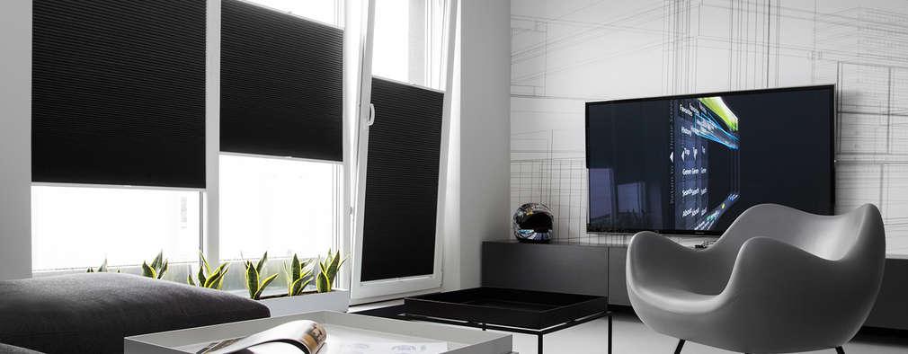 CC /_\ CONCRETE CONCEPT by KASIA ORWAT home design: styl , w kategorii Salon zaprojektowany przez WERONIKA TROJANOWSKA photographer
