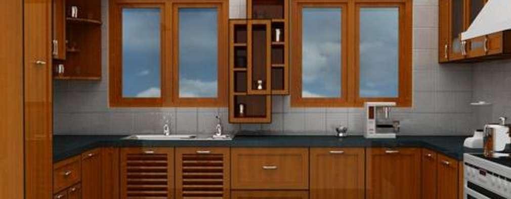 Kitchen Designs: modern Kitchen by Pancham Interiors