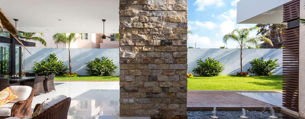 14 formas de poner revestimiento de piedras en el exterior for Revestimiento exterior piedra