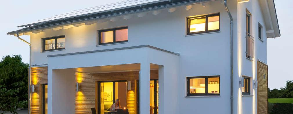 Casas de estilo moderno por Licht-Design Skapetze GmbH & Co. KG