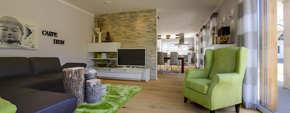 Phòng khách by Licht-Design Skapetze GmbH & Co. KG