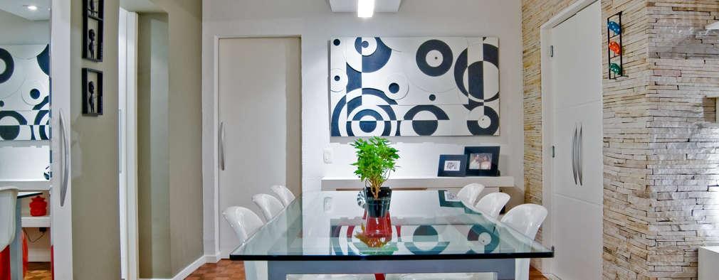 Comedores de estilo moderno por Patrícia Azoni Arquitetura + Arte & Design