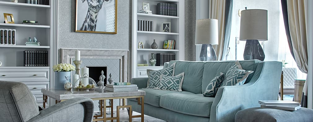 Ruang Keluarga by VVDesign