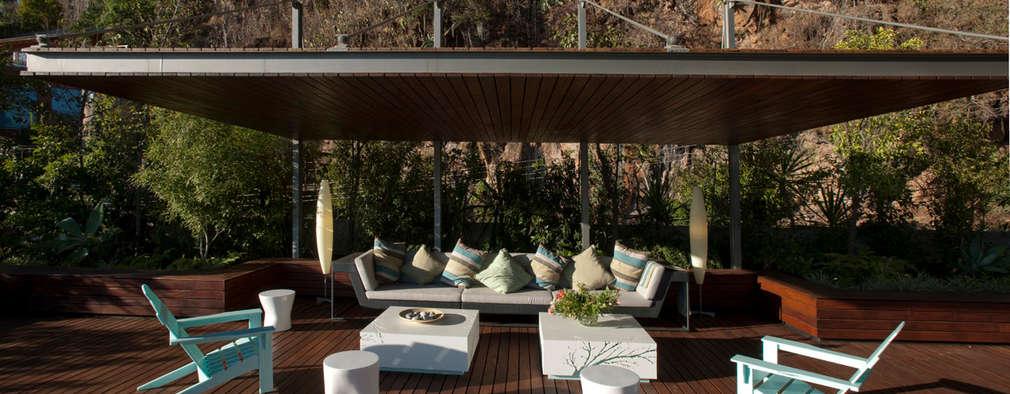 Terrasse de style  par Serrano Monjaraz Arquitectos