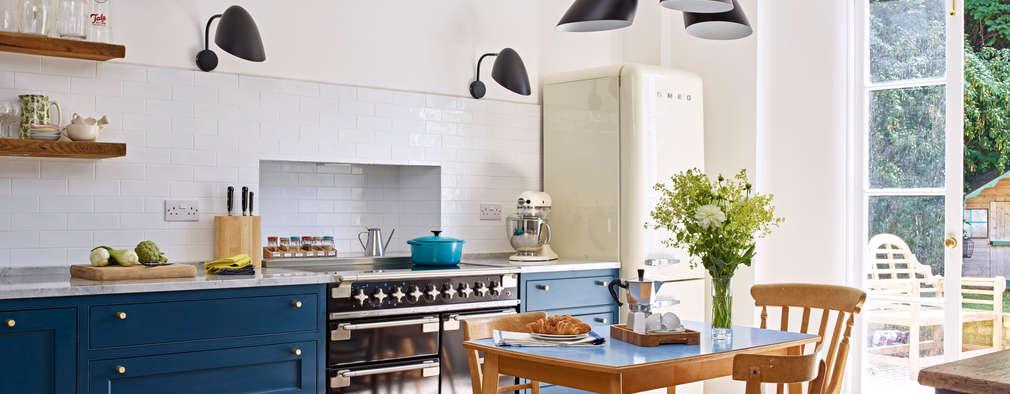 ห้องครัว by Holloways of Ludlow Bespoke Kitchens & Cabinetry