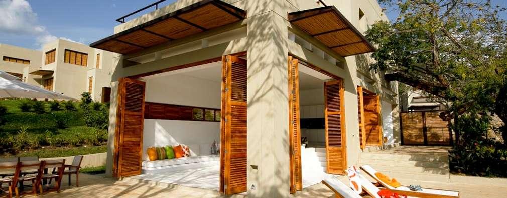 Casas de estilo moderno por Kubik Lab