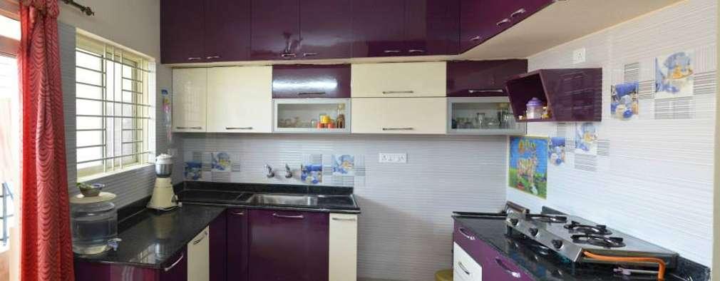 Cocinas de estilo moderno por single pencil architects & interior designers