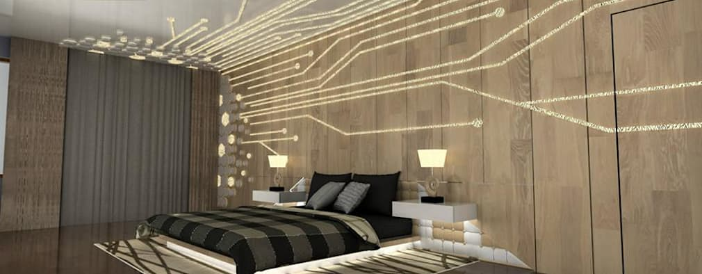 Elegant Bedroom Designs: Modern Bedroom By Single Pencil Architects U0026 Interior  Designers