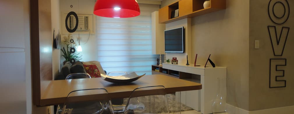 modern Dining room by Maria Helena Torres Arquitetura e Design
