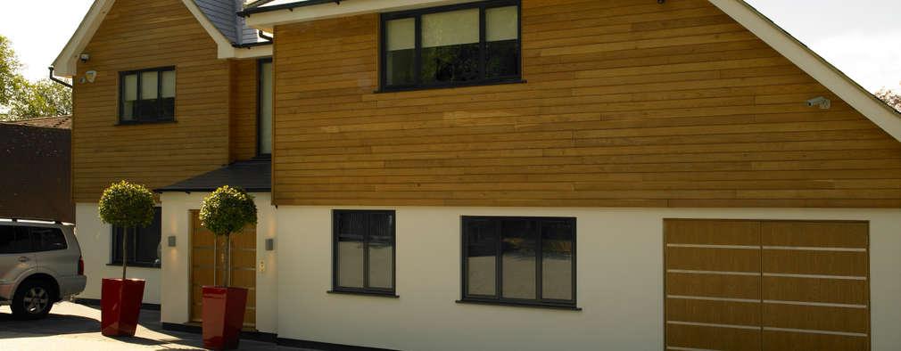 Projekty, minimalistyczne Domy zaprojektowane przez Quirke McNamara