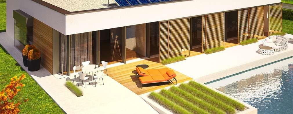 10 casas familiares modernas y muy acogedoras for Casas modernas acogedoras