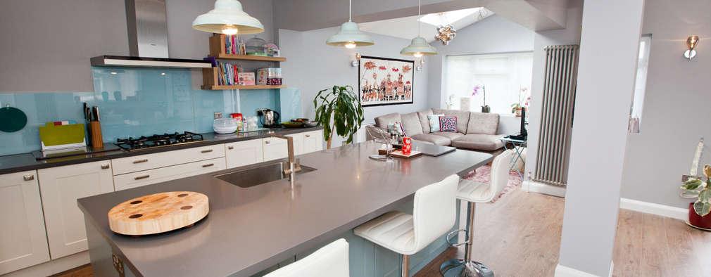 Cocinas modernas peque as 6 pasos para agrandarlas for Estilos de cocinas modernas pequenas