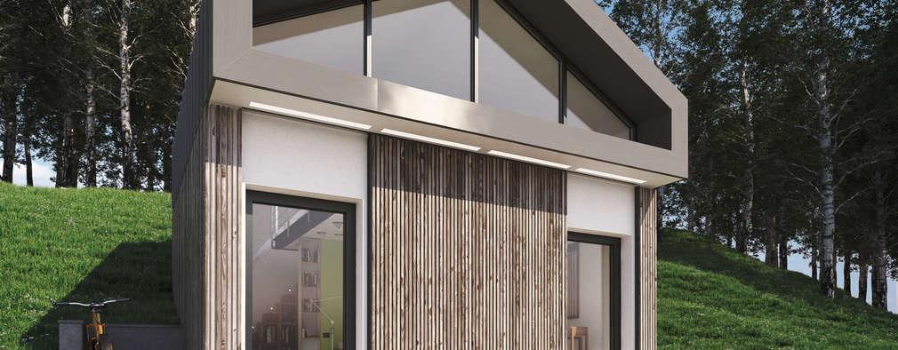 Casas de estilo moderno por 3d-arch