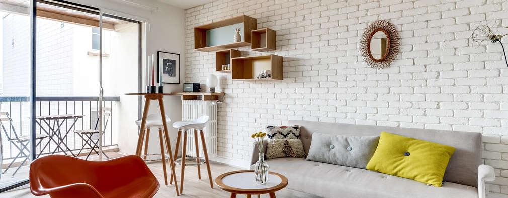 Soggiorno In Stile In Stile Moderno Di Transition Interior Design