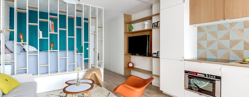 6 idee salvaspazio per una mini camera da letto