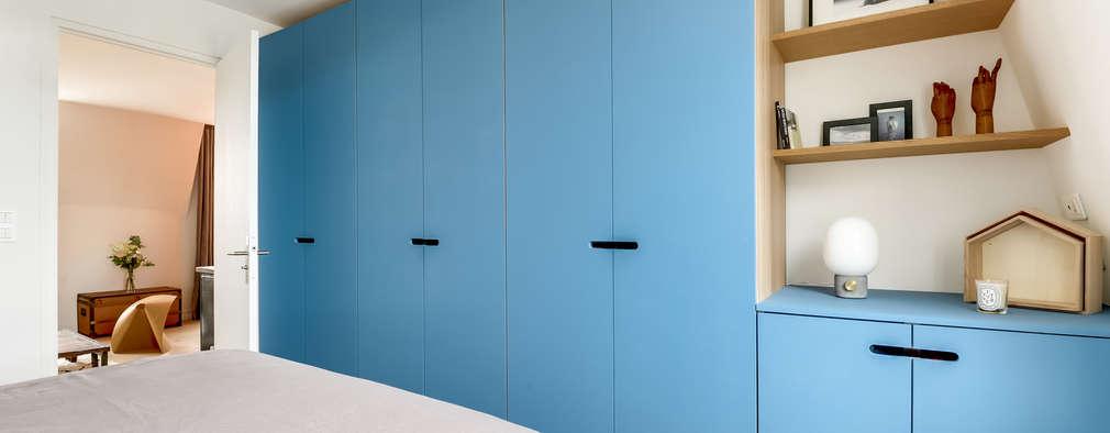 غرفة الملابس تنفيذ Transition Interior Design