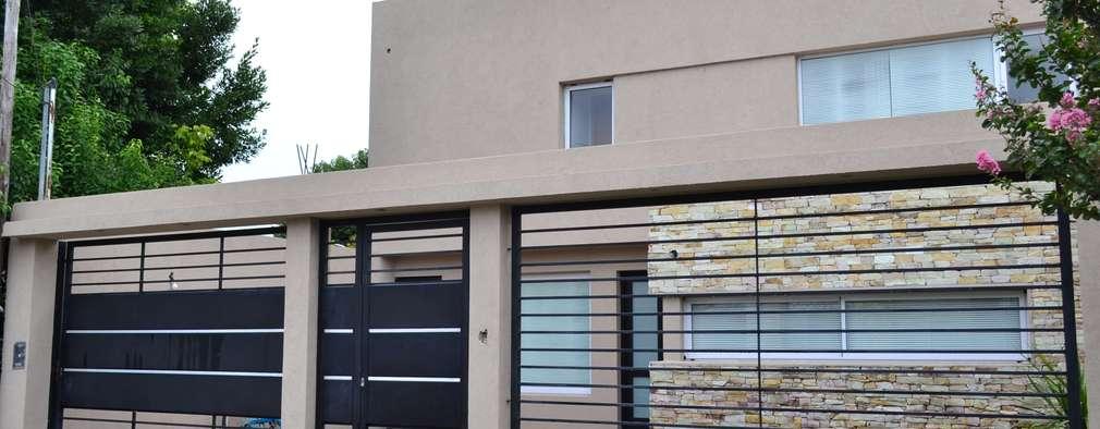 7 ideas de rejas para proteger tu casa for Frentes de casas minimalistas fotos