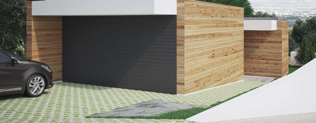 Maisons de style de style Moderne par ASVS Arquitectos Associados