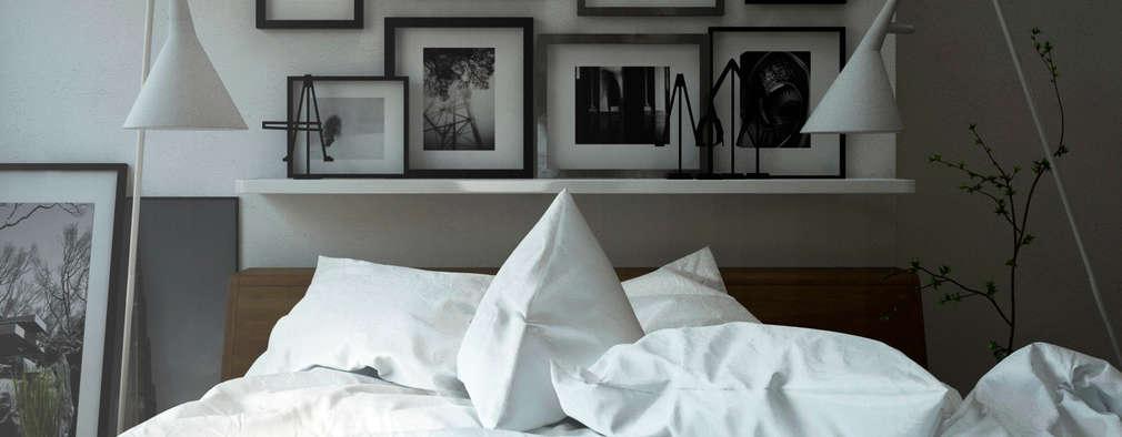 Dormitorios de estilo minimalista por SF Render