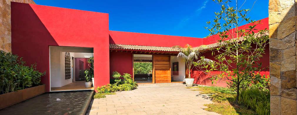 10 casas de un piso por arquitectos mexicanos for Casas estilo mexicano contemporaneo fotos
