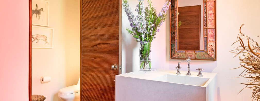 浴室 by Lopez Duplan Arquitectos