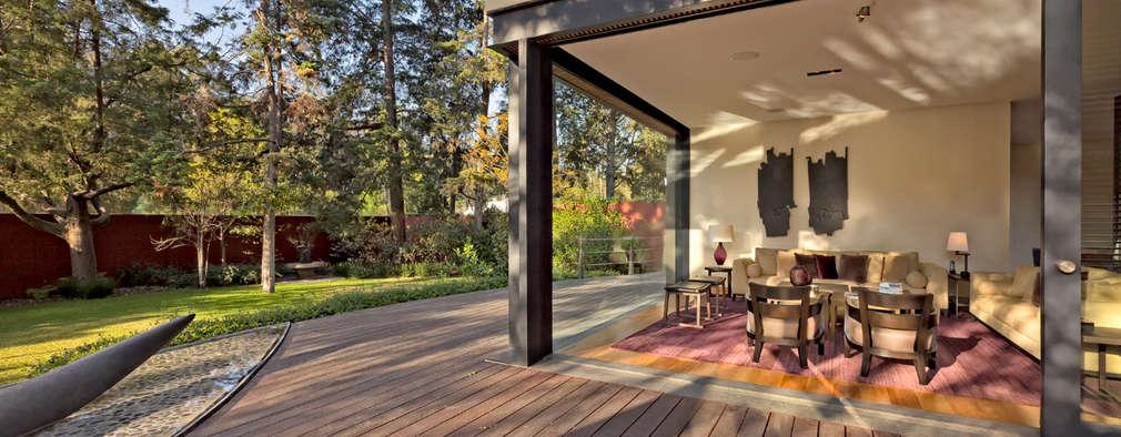 Terraços  por Lopez Duplan Arquitectos