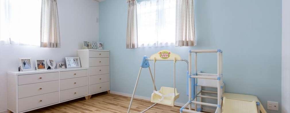 Детские комнаты в . Автор – ジャストの家