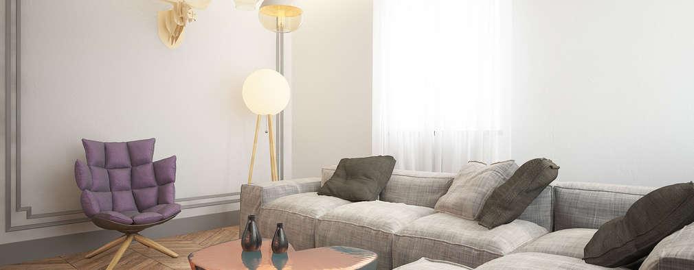 10 idee perfette per vivacizzare un piccolo soggiorno - Soggiorno Fucsia 2