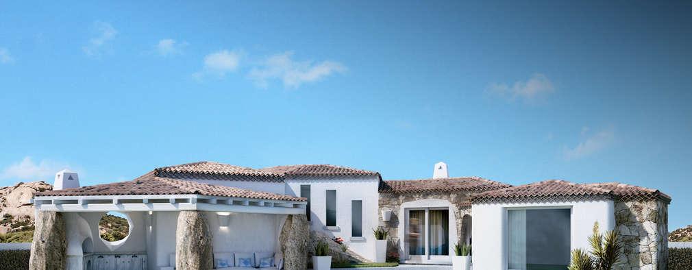 Casas de estilo mediterraneo por DMC Real Render