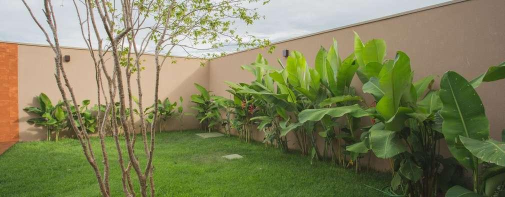 14 jardines bonitos y sencillos que vas a querer en tu casa - Casas con jardines bonitos ...