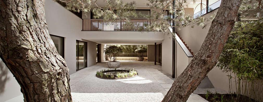 Projekty, nowoczesne Domy zaprojektowane przez meier architekten