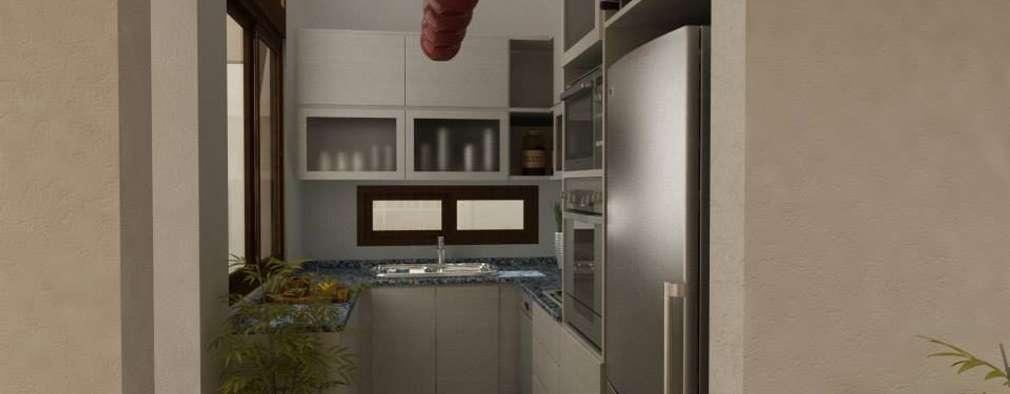 Projekty,  Kuchnia zaprojektowane przez Arquitecta MORIELLO