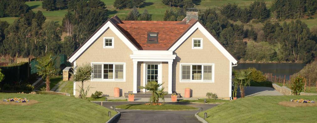Projekty, klasyczne Domy zaprojektowane przez Canexel