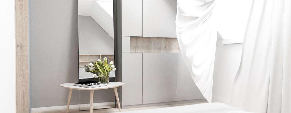 FOORMA Pracownia Architektury Wnętrz의  침실