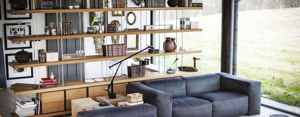 Projekty,  Salon zaprojektowane przez Riva1920