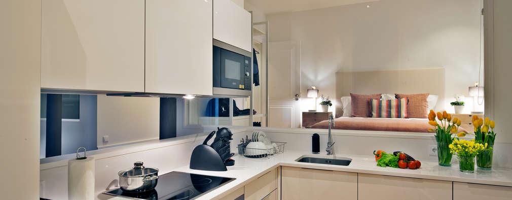 6 lindas cocinas en l perfectas para apartamentos peque os - Cocinas de apartamentos pequenos ...