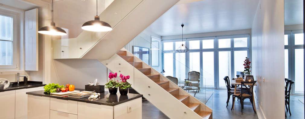 de estilo  por Pureza Magalhães, Arquitectura e Design de Interiores