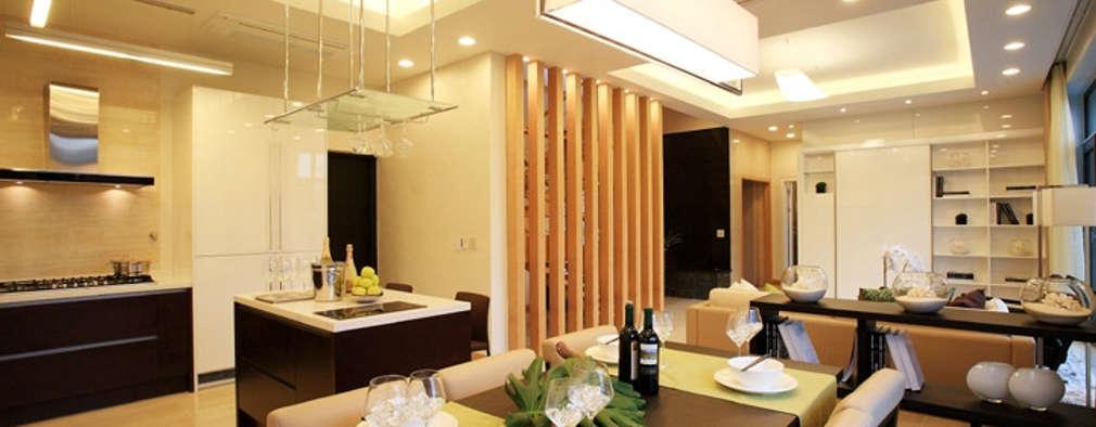 한글주택(주): modern tarz Mutfak