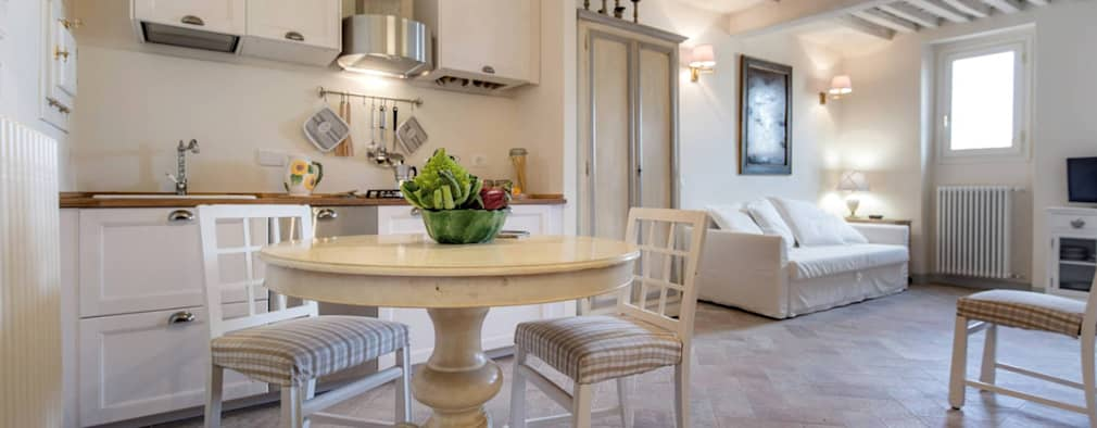 10 idee per inserire un piccolo tavolo in cucina for Case senza sale da pranzo
