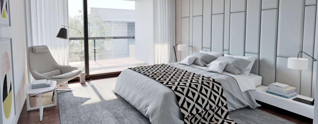 modern Bedroom by MyWay design