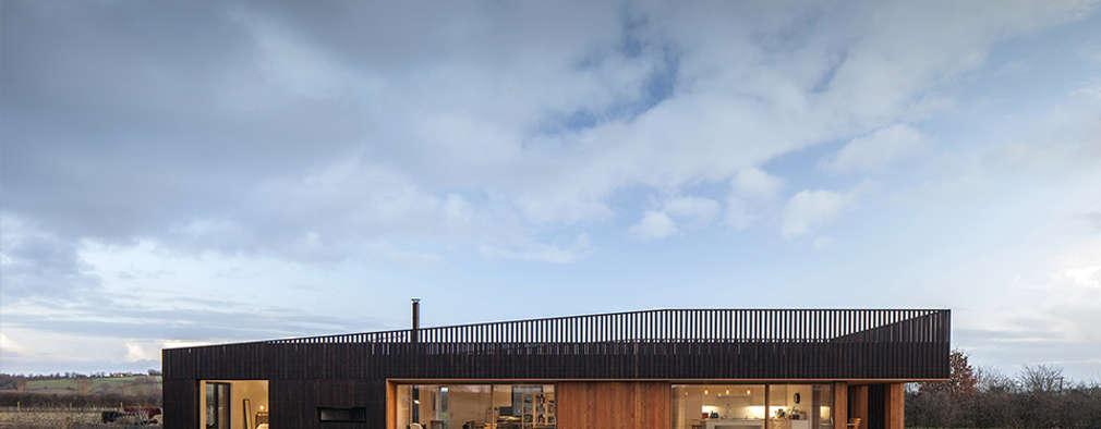Maisons de style de style Moderne par ecospace españa