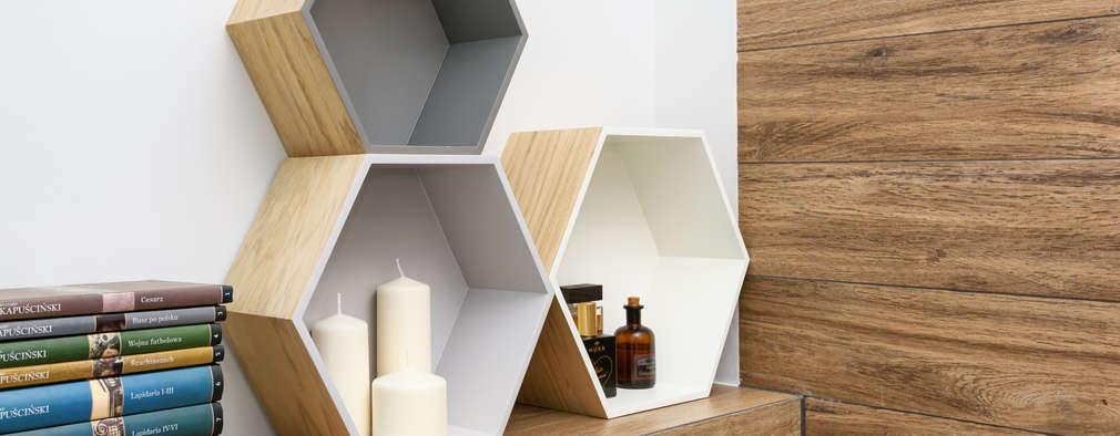 Baños de estilo escandinavo por Partner Design