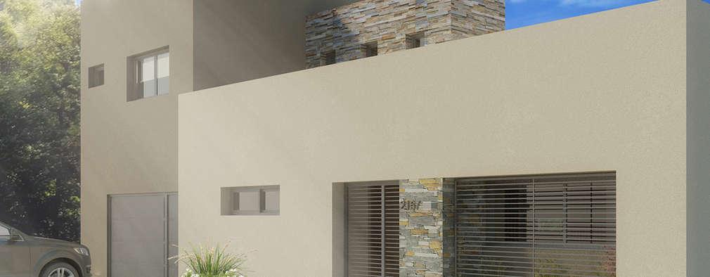 Maisons de style de style Minimaliste par Casa Meva Estudio