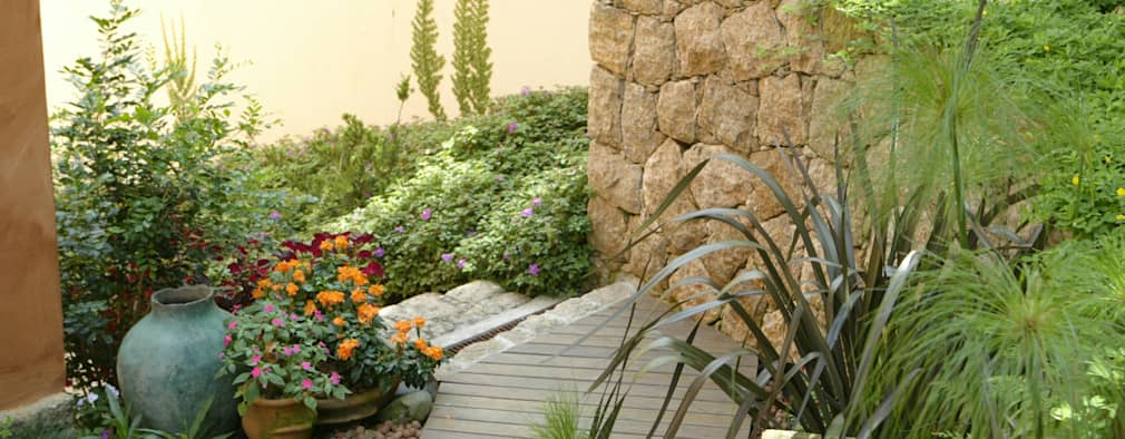 10 jardines peque os muy inspiradores for Homify jardines pequenos