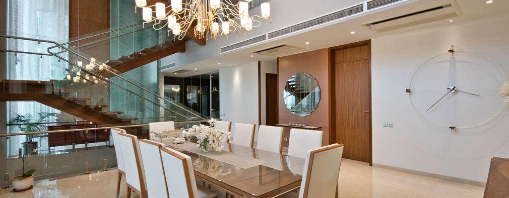 Comedores de estilo moderno por Chaney Architects