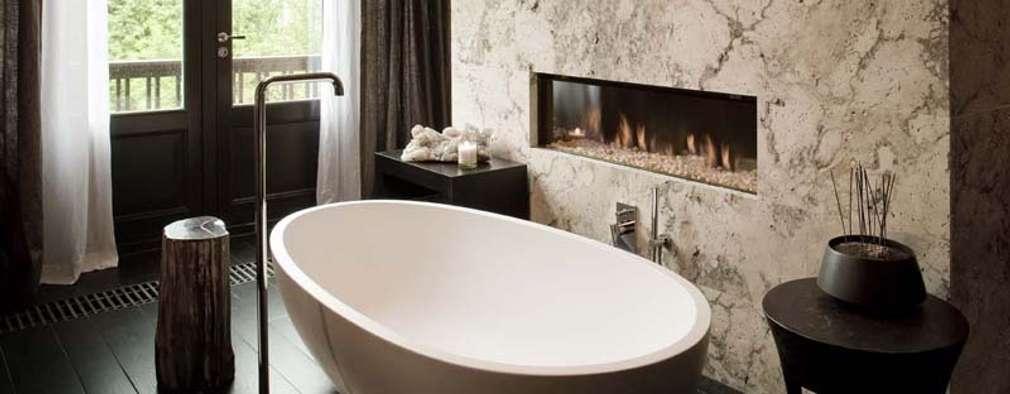 10 ideas con piedra que harán que tu baño se vea moderno y fabuloso