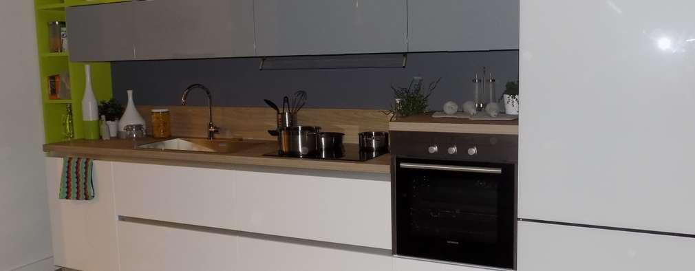 6 ideas de cocinas lineales grandes y peque as for Cocinas lineales